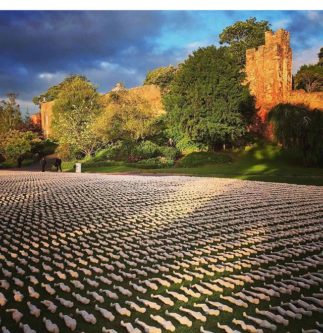 The Shrouds of the Somme in Exeter